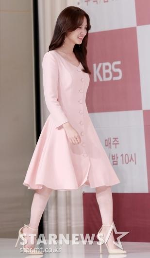 [★포토]박은빈, '러블리한 베이비 핑크'