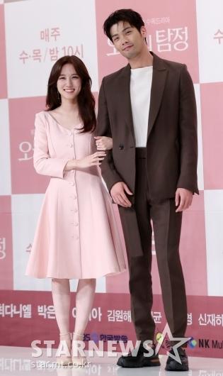[★포토]박은빈-최다니엘, '바람직한 키 차이'