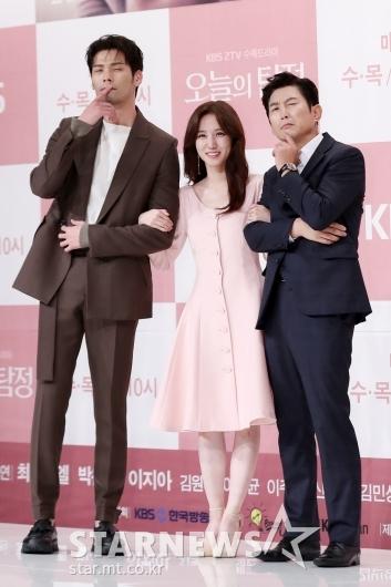 [★포토]최다니엘-박은빈-박원해, '훈훈한 탐정 식구들'