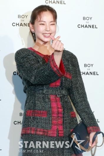 [★포토]안소희 '하트를 받으세요'