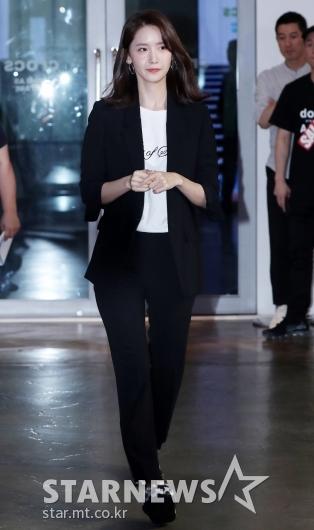 [★포토]윤아, '단정한 블랙 수트'