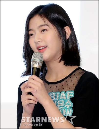 [★포토]신은수, 'BIAF 홍보대사 됐어요'