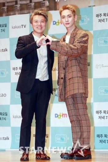 [★포토]김동욱PD-키 '청담key친에서 만나요'