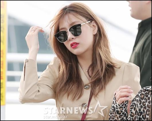 [★포토]오하영, '눈에 띄는 새빨간 입술'