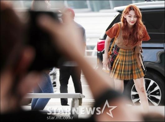 [★포토]미나, '인사도 예쁘게'