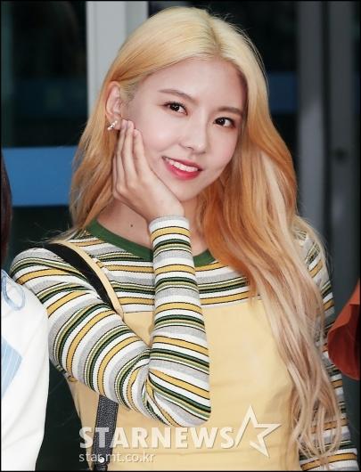 [★포토]나영, '실물 미모 예쁘죠?'