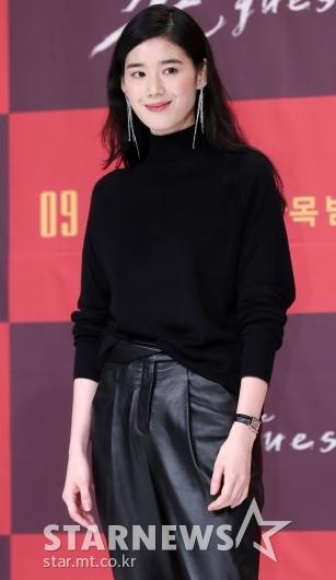 [★포토]정은채, '시크한 올블랙'