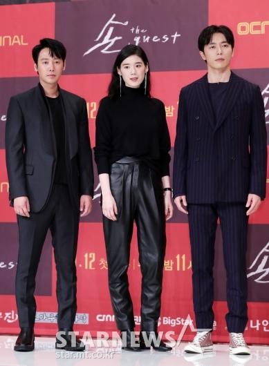 [★포토]김동욱-정은채-김재욱, '강렬한 비주얼 3인방'
