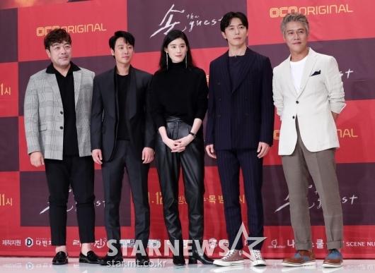 [★포토]훌륭한 '손 the guest'의 배우 라인업