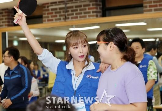 [★포토]홍진영, '우리가 이겼다!'