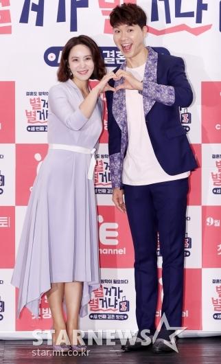 [★포토]박지윤-박수홍, '세 번째 시즌으로 돌아왔어요'