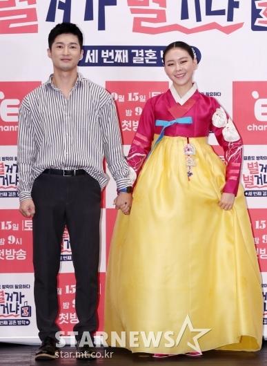 [★포토]정석순-김나니, '우리 잘 어울리죠?'
