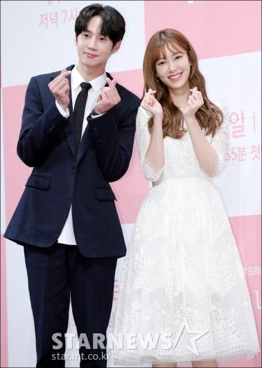 [★포토]박성훈-나혜미, '사랑스런 막내 라인'