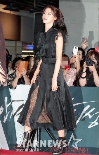 [★포토]김설현, '블랙 여신'