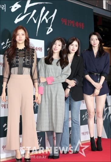 [★포토]헬로비너스, '극장 밝히는 미모'