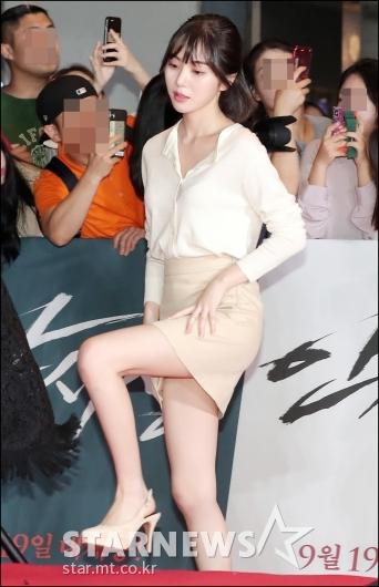 [★포토]민아, '시선강탈 각선미'