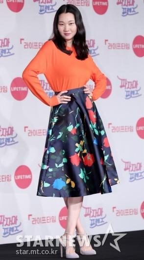 [★포토]장윤주, '모델의 포즈란'