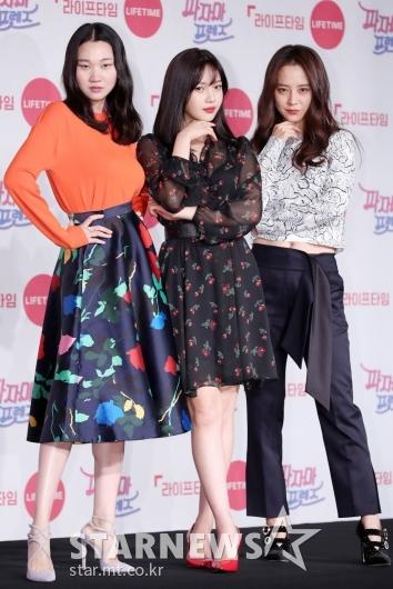 [★포토]장윤주-조이-송지효, '셋이 모여 미모 폭발'