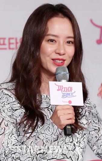 [★포토]송지효, '호캉스 함께 즐겨요'
