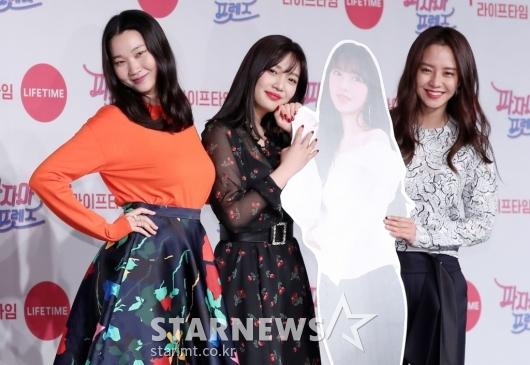 [★포토]장윤주-조이-송지효, '성소와 함께'