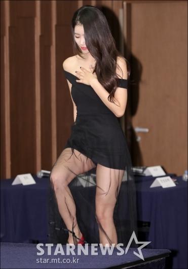 [★포토]미주, '아찔한 초미니 드레스'