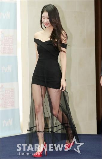 [★포토]미주, '시선강탈 시스루 드레스'