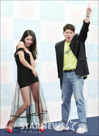 [★포토]미주-권혁수, '고퀄리티 포즈'