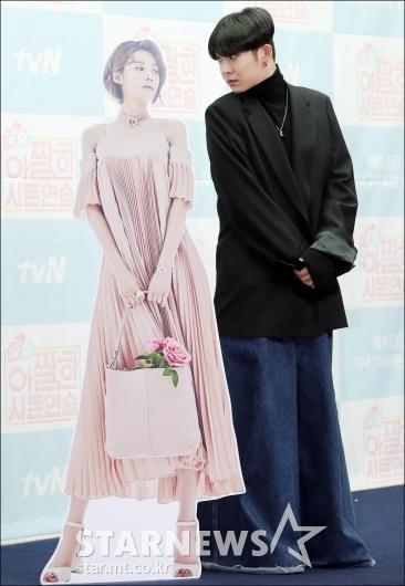 [★포토]남태현, '장도연 등신대 포즈 따라하기'