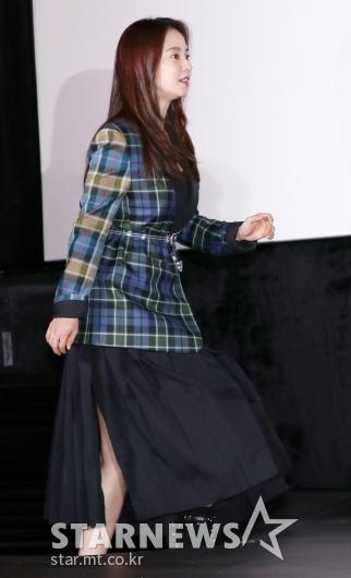 [★포토]송지효, '살짝 트인 치마'