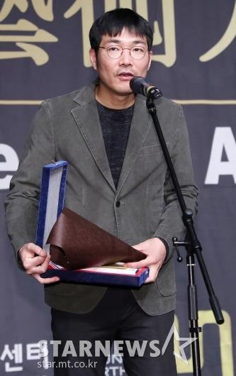 [★포토]독립영화예술인상 수상한 신동석 감독