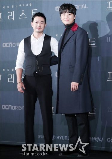 [★포토]박용우-연우진, '브로맨스 기대하세요!'