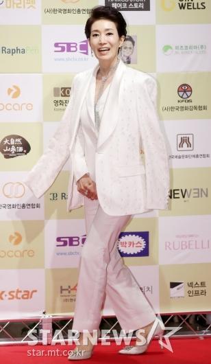[★포토]나영희, '멋쟁이만 입을 수 있는 올 화이트'