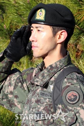 [★포토]광희 '늠름한 모습으로 인사'