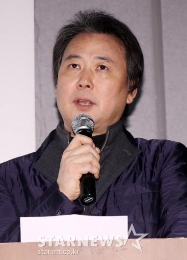[★포토]폭행 의혹 반박 기자회견 연 김창환 회장