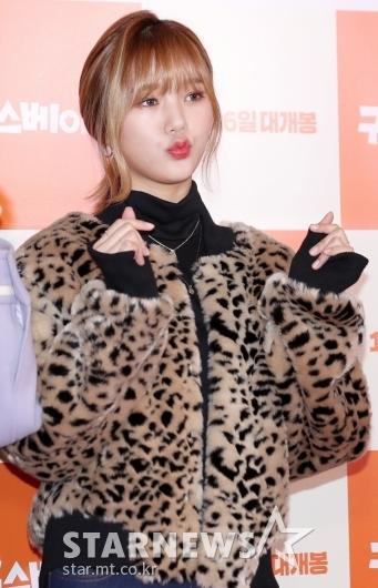 [★포토]미미, '더 예뻐진 오마이걸 랩퍼'