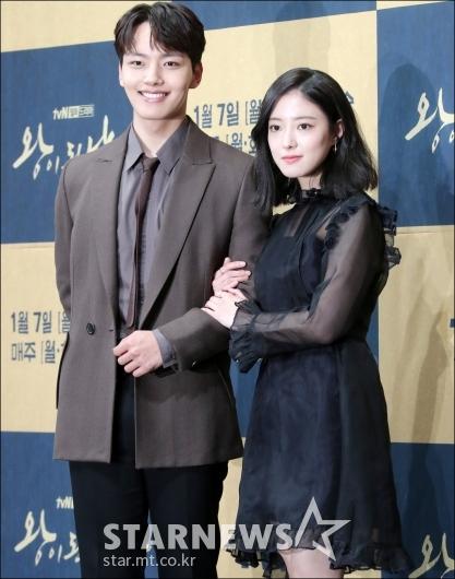 [★포토]여진구-이세영, '왕과 중전'