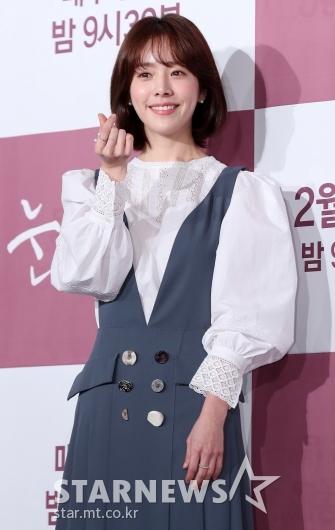[★포토]한지민, '사랑스러운 미니 하트'