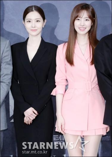 [★포토]김유리-진세연, '상반된 분위기의 패션'
