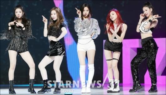 [★포토]있지, '2019년 최강 신인 걸그룹'