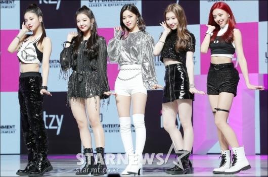 [★포토]ITZY(있지), 'JYP의 신인 걸그룹'