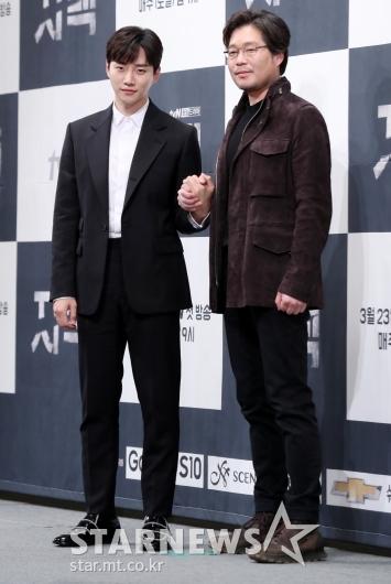[★포토]이준호-유재명, '자백'에서 특별한 만남