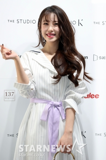 [★포토]전효성 '몰라보게 예뻐진 미모'