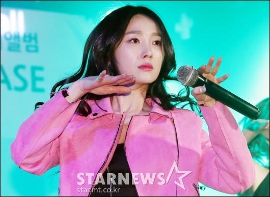 [★포토]박하이, '무표정 EDM 댄스'