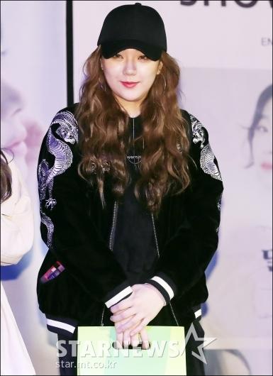 [★포토]김주나, '박하이 응원해요'