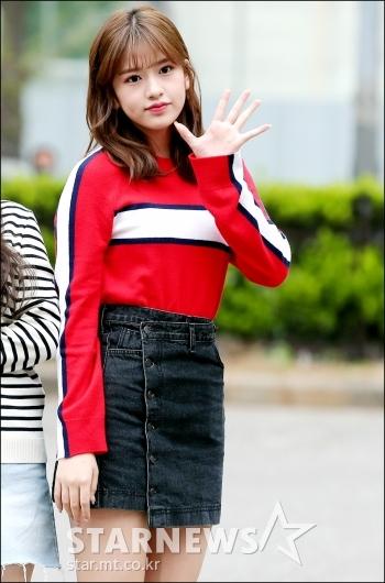 [★포토]안유진, '눈에 띄는 미모'