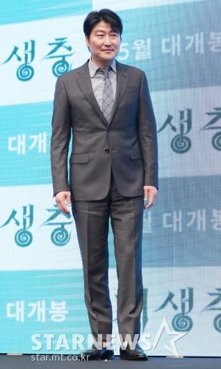 [★포토]송강호, 다섯 번째 칸 行 '칸의 남자'