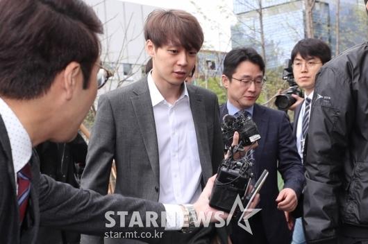 [★포토]박유천, 구속 전 피의자 심문 위해 출석