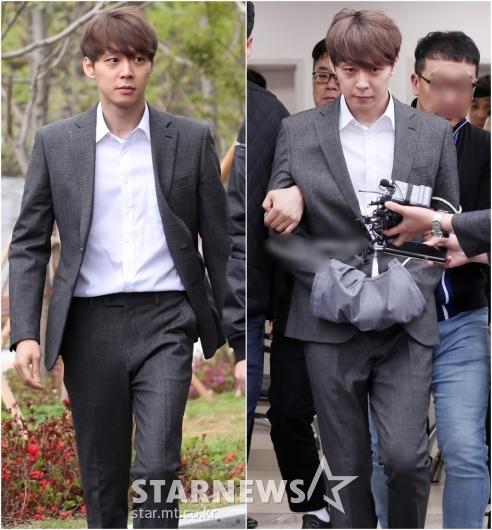 [★포토]'마약 혐의' 박유천, 영장실질심사 후 표정 변화