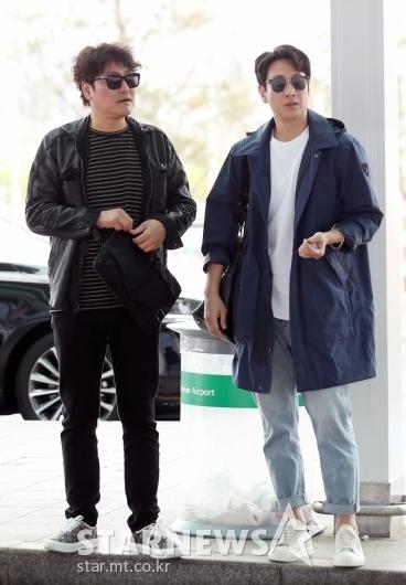[★포토]송강호-이선균, '두 배우들의 칸 출국 패션'