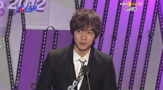 KBS Joy 제2회 가온차트 K-POP어워드 방송화면